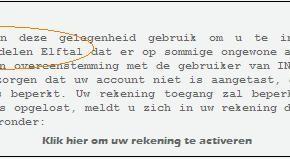 Spam mail ING