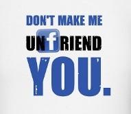 Unfriend you