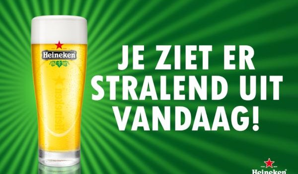 Heineken complimentendag