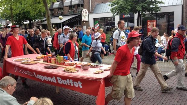 Bolletje Lopend buffet Vierdaagse