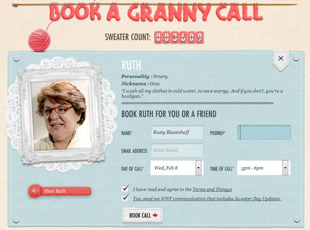 WNF book a granny