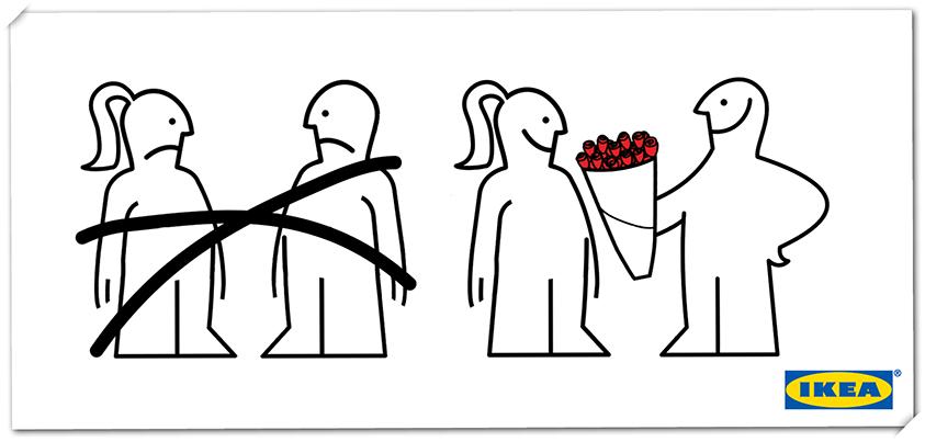 IKEA Valentijnsdag