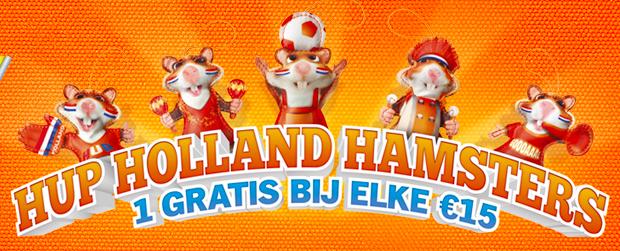 Hup Holland Hamsters Albert Heijn