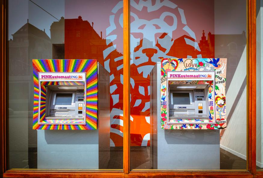 Pinkautomaten ING Gay Pride